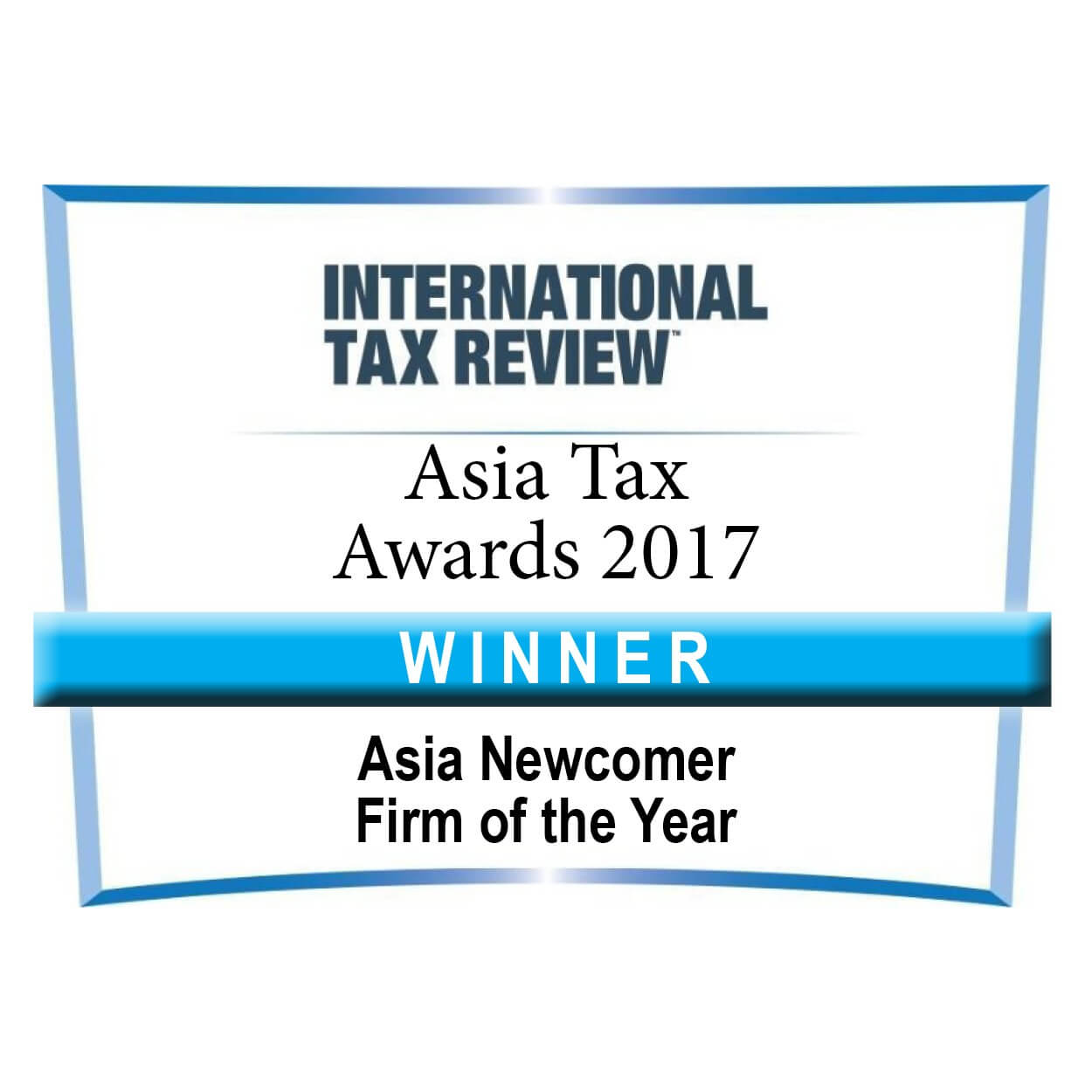 Asia TP Newcomer of the Year Asia Tax Awards Winner 2017