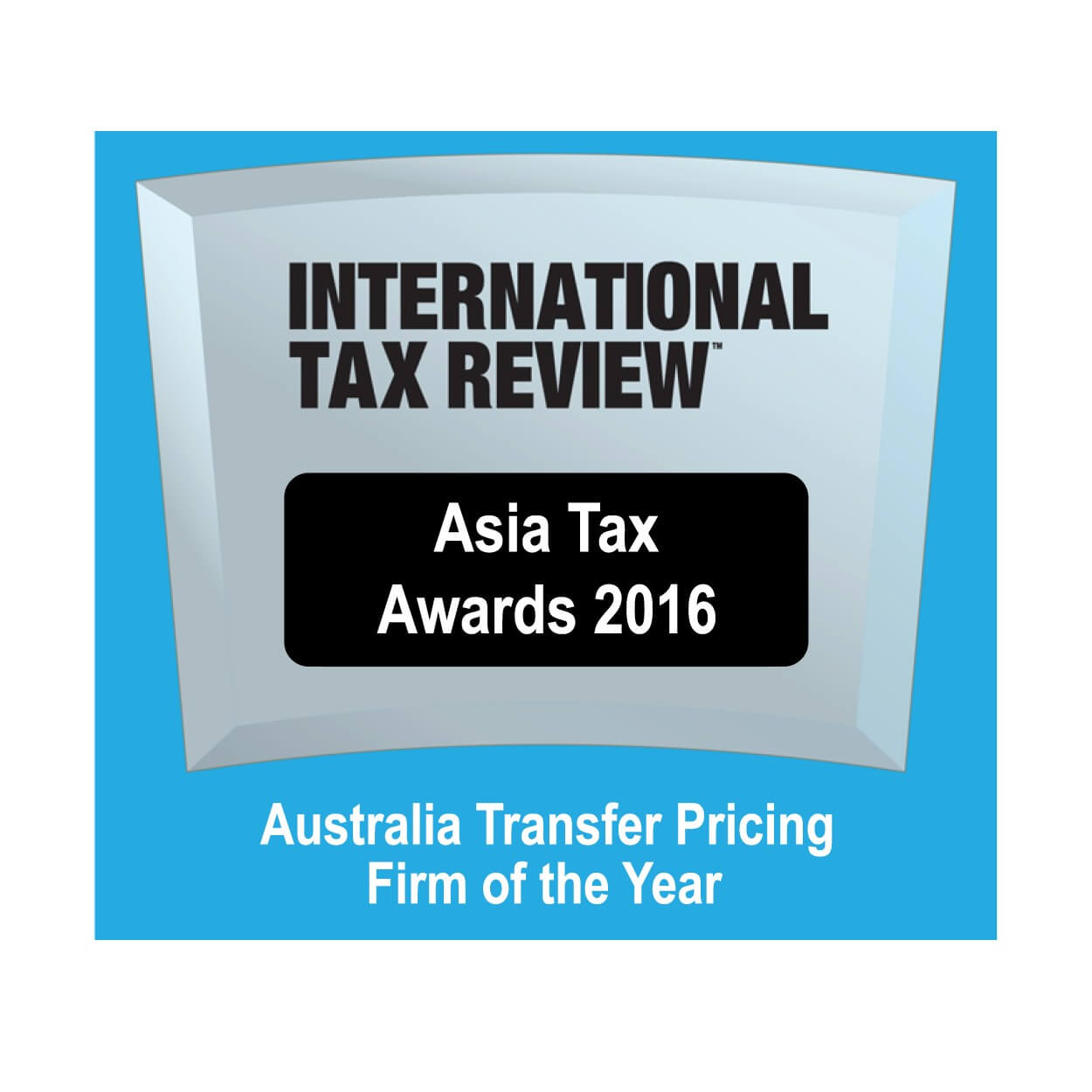 Asia Tax Awards 2016